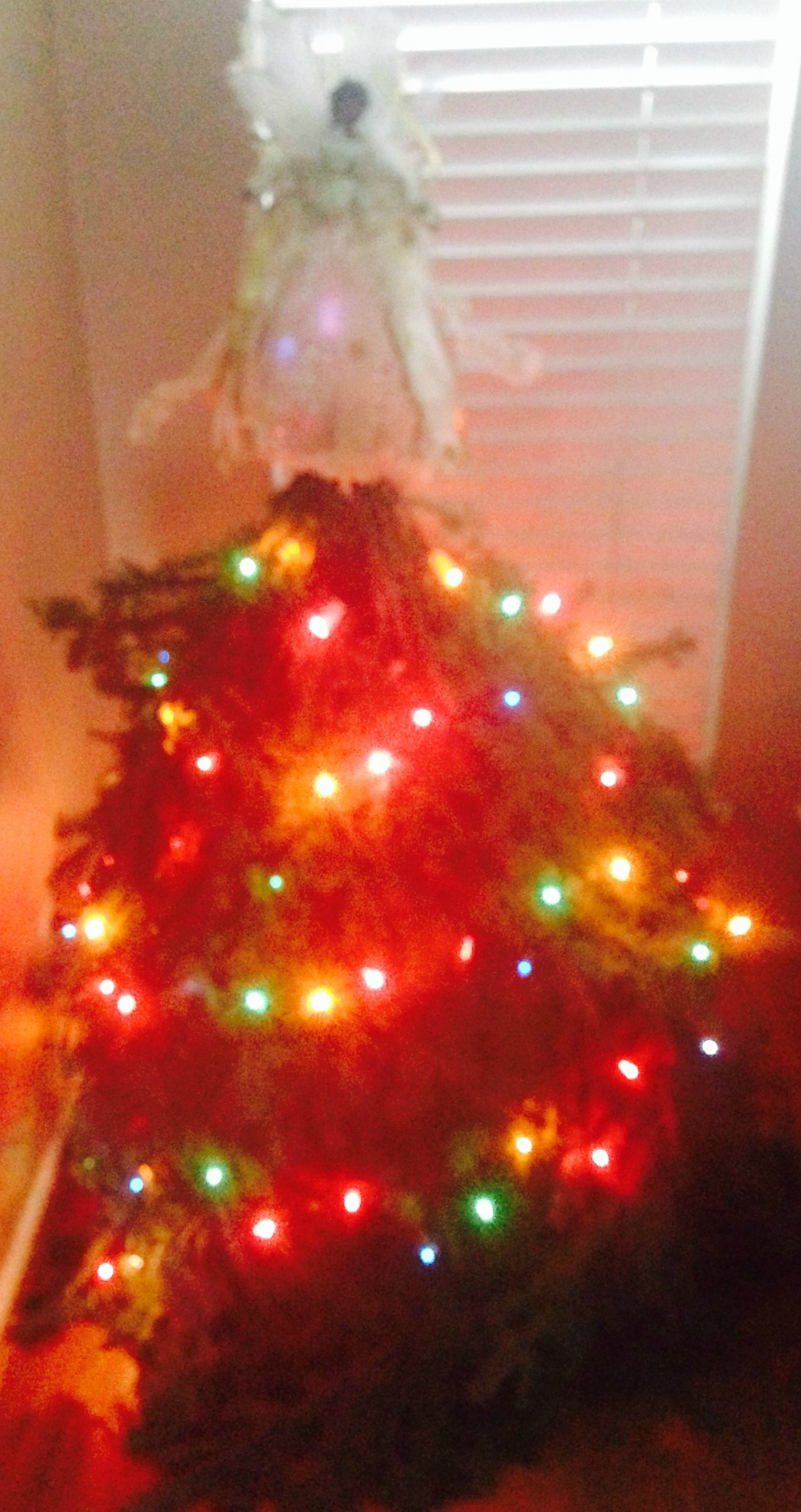 Cousin It Tree Decorated