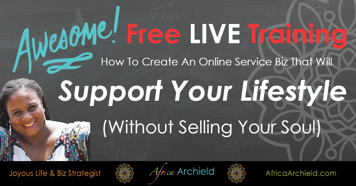 How To Create An Online Service Business That Supports Your Lifestyle (Without Selling Your Soul)